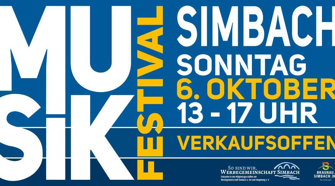 Musikfestival und verkaufsoffener Sonntag – 6. Oktober 2019